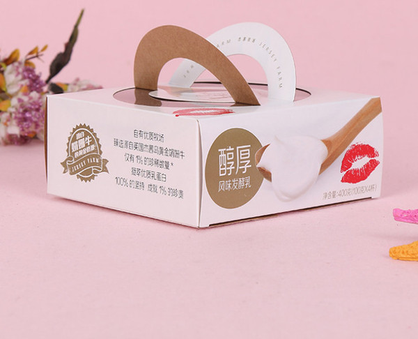 scatola di imballaggio a forma di candela rotonda per i regali, imballaggio all'ingrosso di lusso della scatola di profumo di carta stampata logo --- DH30870