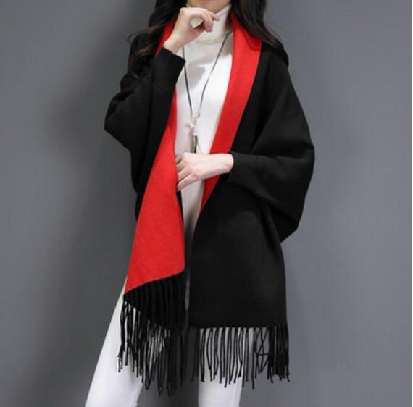 Negro Con Rojo