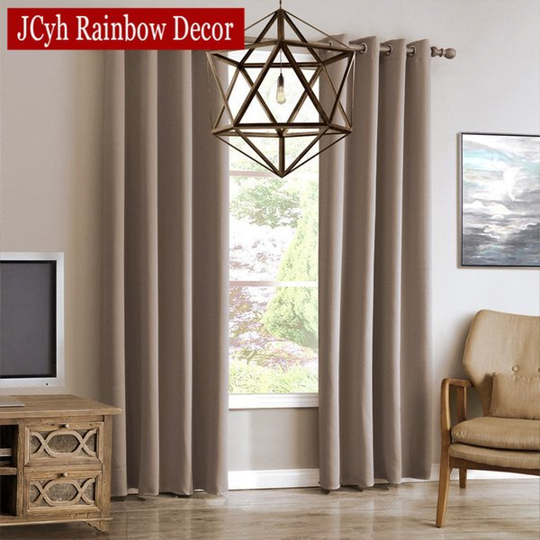 2019 Modern Blackout Curtains For Living Room Window Curtains For Bedroom  Curtain Fabrics Ready Made Finished Drapes Blinds Tend From Hopestar168, ...
