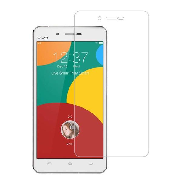Vivo X5 MAX Tempered Glass Screen Protectors Bubble-Free HD-Clear Anti-Scratch Anti-Glare Anti-Fingerprint Film For Samsung iPhone Huawei