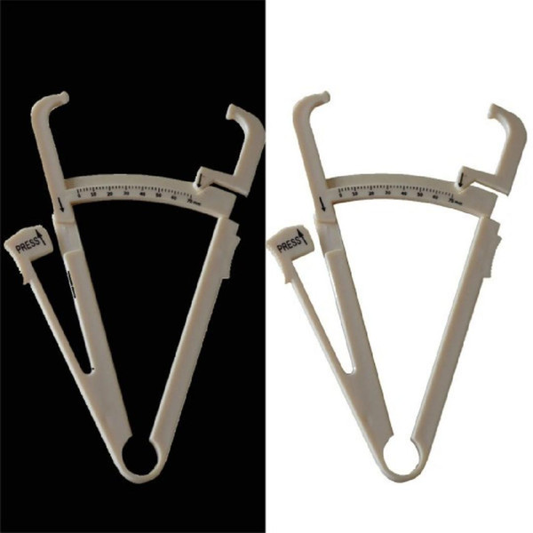 High Quality New Personal Measure Body Fat Loss Tester Caliper Keep Slim Fitness Clip fitness