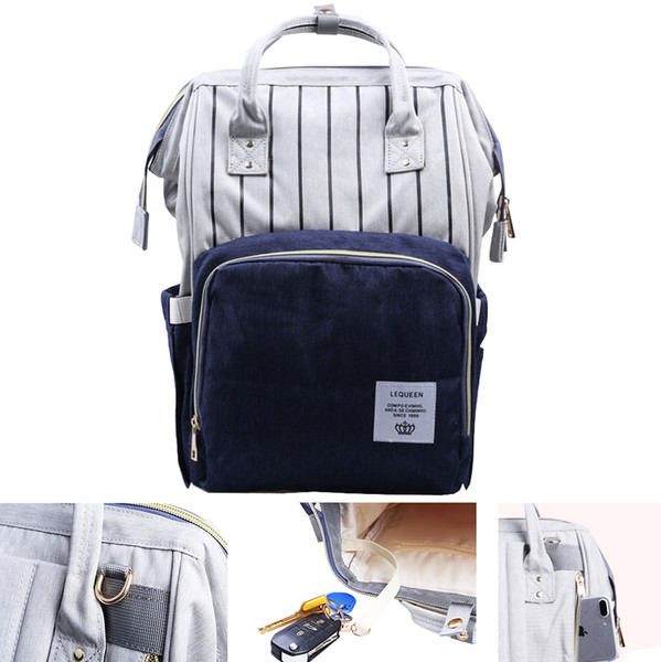 Multifunctional Baby Diaper Backpack Mommy Bag Mummy Backpack Nappy Changing Bag