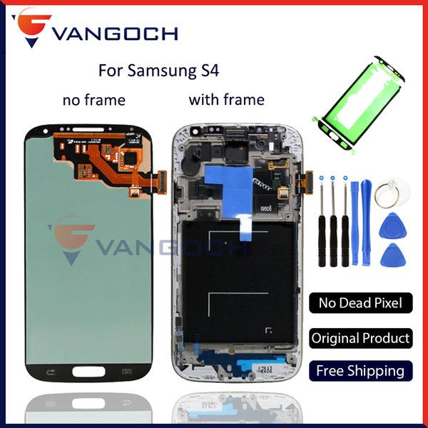 Original Quality for Samsung Galaxy S4 i9500 i9505 I545 I337 LCD Display Touch Screen Digitizer Assembly Repair Replacement
