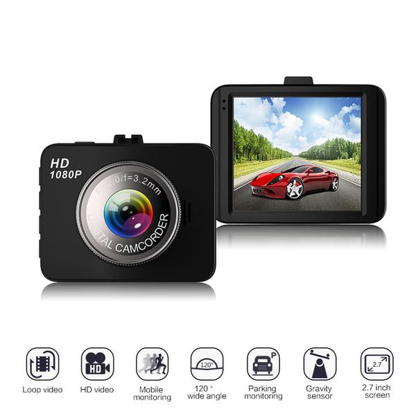 "2017 NEW Car DVR Full HD 1080P 2.7"" Vehicle Camera Video Recorder Motion Detection with G-Sensor Car Camera Box Drive Recorder"