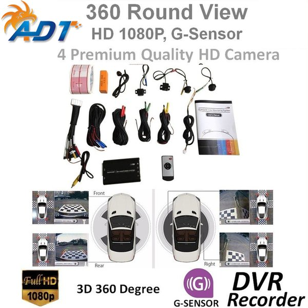 2019 Car Safety Svm 3d Hd Car Surround View Monitoring System 360