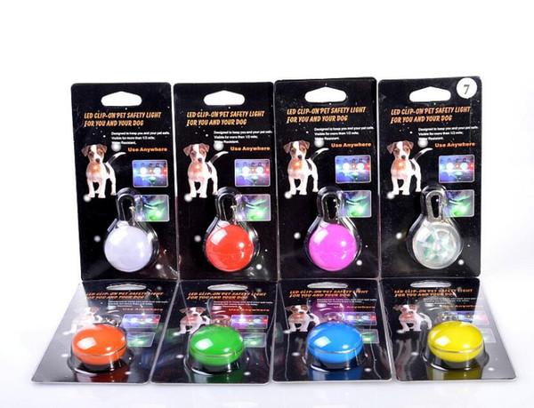 Chien fournitures pour chiots Pet LED Light Pendant Pet Chien Chats Chiot Nuit Sécurité Light Pendant Pendentif Chien Collier de Chat LED Pendentif Pet Fournitures