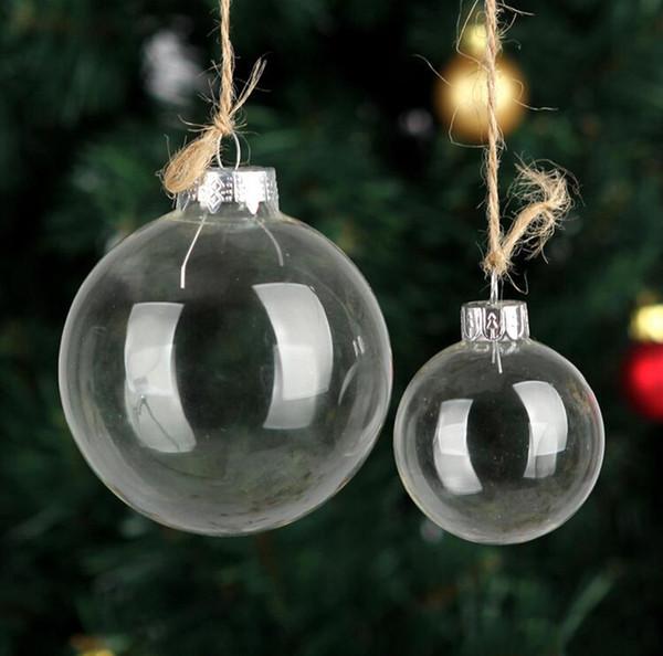 best website 4c0e0 df0de Wedding Bauble Ornaments Christmas Xmas Glass Balls Decoration 80mm  Christmas Balls Clear Glass Wedding Balls 3 / 80mm Christmas Ornaments  Christmas ...