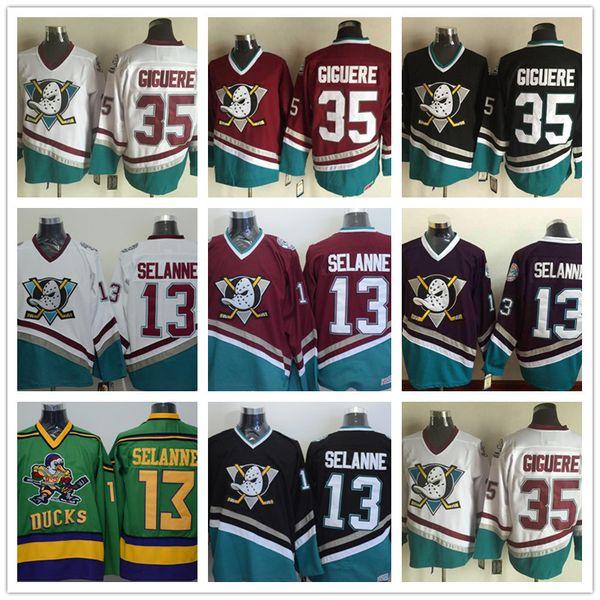 205a2c815 ... anaheim ducks 13 teemu selanne purple throwback ccm jersey 2018 mens  ccm vintage anaheim ducks 13