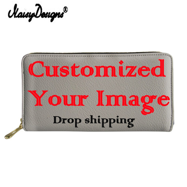 Fashion Women's Long Leather Wallet Personality Custom Waterproof Coin Purses for Girls Travel Storage Money Bags Drop Shipping