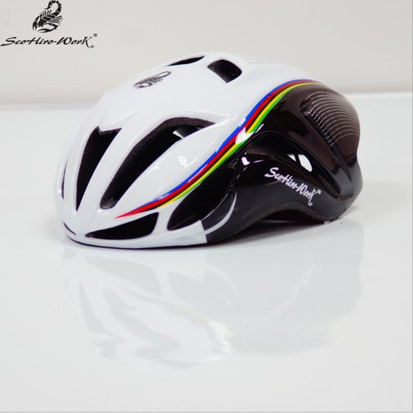 Ultralight integrally-molded cycling helmet triathlon mountain road bike helmet men&women profession bicycle equipment