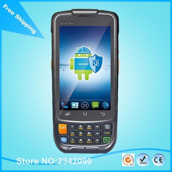Envío gratis Urovo i6200s Enterprise Security Terminal de datos inteligente qr código 1D 2D Handheld Android PDA Scanner 3G WIFI GPS