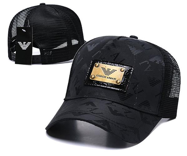 2019 sonbahar Yeni marka erkek tasarımcısı snapback kapaklar ayarlanabilir beyzbol şapkaları lüks bayan moda şapka trucker casquette kadın nedensel ...