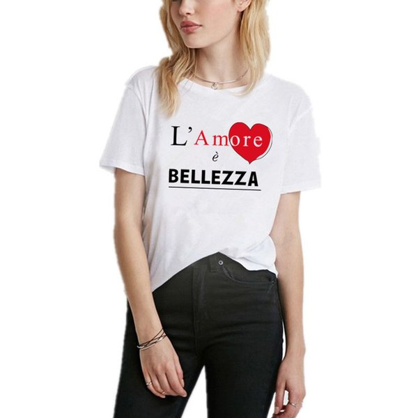 Women's Tee Women T Shirts High Quality Letter Design Short Sleeve Casual Tops Fashion Tshirt Femme Plus Size