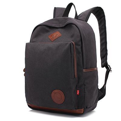 AUGUR Fashion Men Women's Backpack Canvas Travel Laptop Bag Rucksacks Famale Backpacks Teenagers Student School Bags for Girls