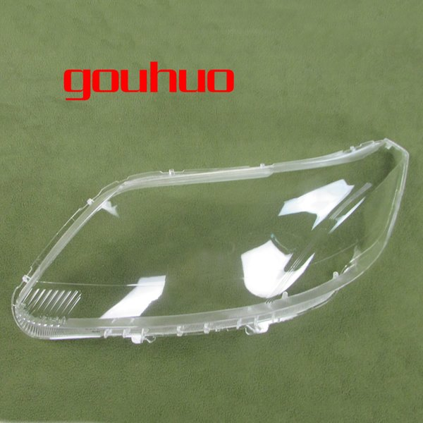 transparent lampshade shell lamp headlamp cover glass shade front Headlight shell For Chevrolet Sail 2010-2014 2pcs