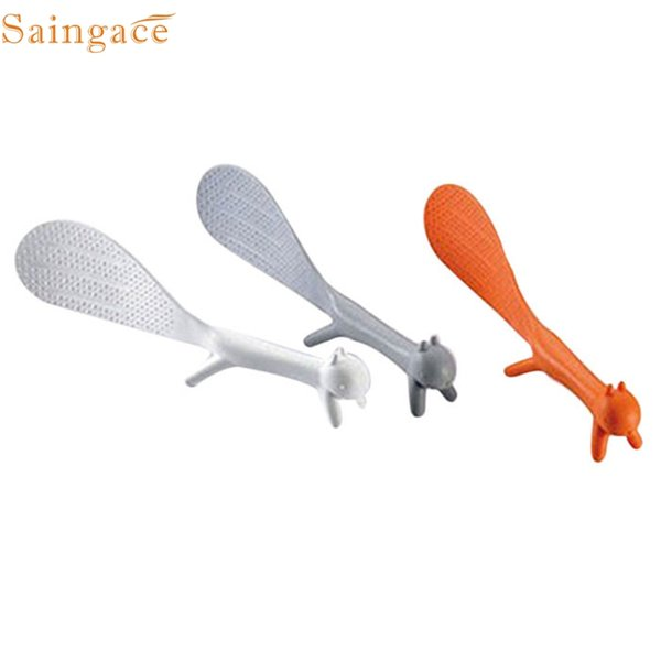 D-5 High Cost-Effective Creative Home Furnishing Cute Non Stick Table Meal Spoon