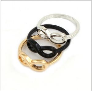European and American personality ring fashion alloy 8 - character ring s139