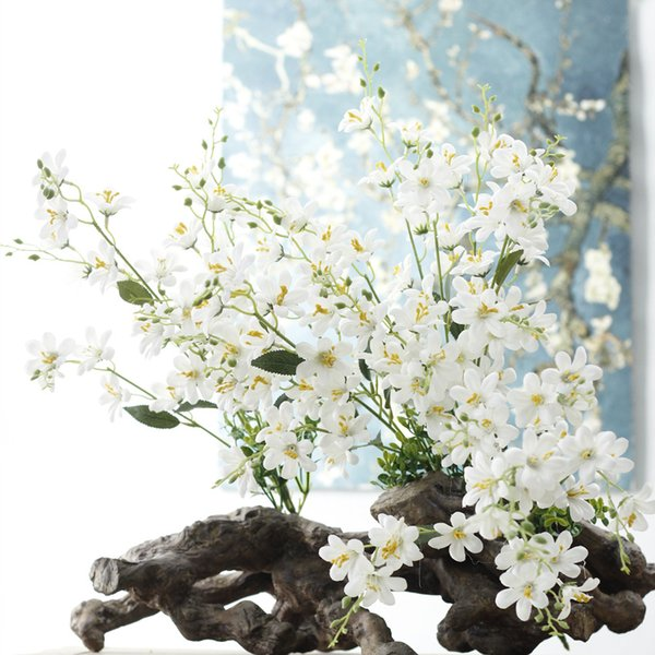 2019 7 Branches Artificial Jasmine Lifelike Artificial Jasmine Bouquets For Home Wedding Party Decorations Factory Directly Sale From Sweethome123