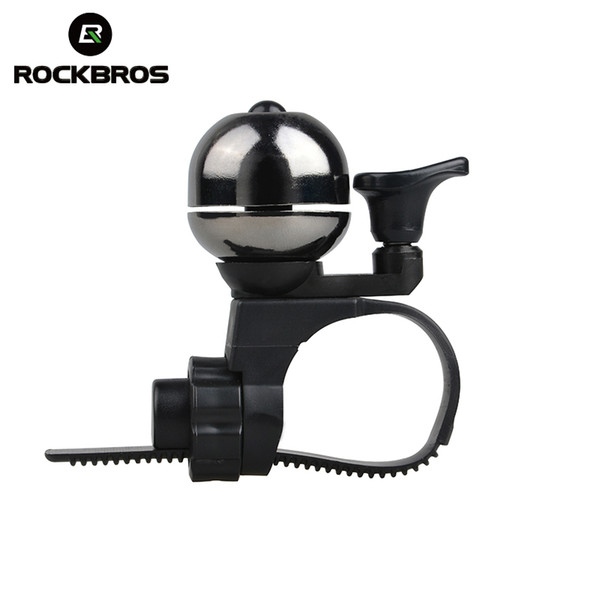 RockBros Cycling Accessorie Handlebar Retro Copper Ring Bell Bicycle Horn Black