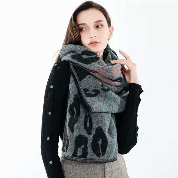 Camouflage Women Warm Scarf Fashion Casual Female Leopard Patterns Printed Shawl Soft Ladies Neck Scarf echarpe femme sjaal