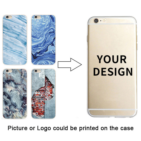 60Pcs Transparent Phone Case For iPhone 6 6s 7 8 Plus Ultra Thin Clear Soft TPU Silicone Cover Cases With custom pvc packaging box