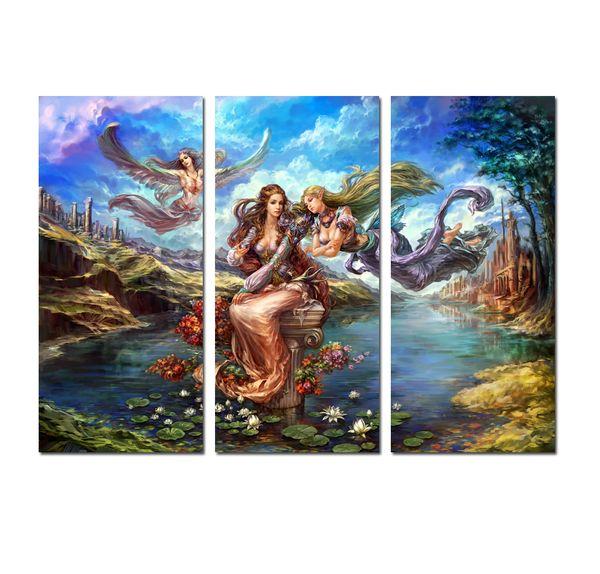 Angel Oil Painting Art