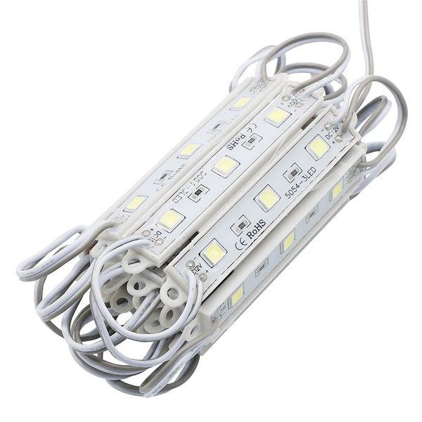 Compre Umlight1688 Super Brillante Impermeable Smd 5054 3 Módulos Led Enfriar Blanco Ip65 Led Lámparas Dc 12v Para Cartelera A 256 29 Del Umlight1688
