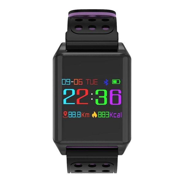 SexeMara 0.95 inch OLED Color Screen Blood Oxygen Pressure Heart Rate Monitor Pedometer Smart Watch
