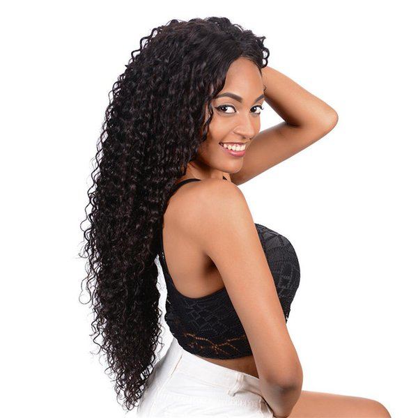180%Density Full Lace Human Hair Wigs For Women Pre Plucked Deep Wave Brazilian Lace Frontal Human Hair Wigs With Baby Hair Natural Hairline