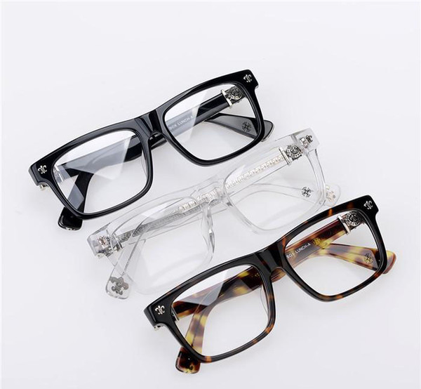 2019 de la moda del almuerzo, una miopía Gafas de Grau Chrome Frame caja de las lentes de la miopía del marco de los hombres del ojo de vidrios vidrios de las mujeres de Japón Marca óptico