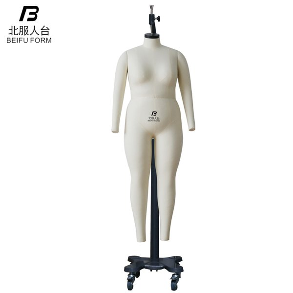 2018 Female Plus Size Mannequin And Dress Form Dunmg Full Body And Half  Body Evening Dress Form Display Mannequin Ghost Mannequin Plastic From ...