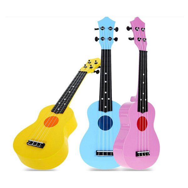 "21"" Soprano Ukulele Colorful Uke 4 Strings Hawaii Guitar For Beginner Kids Adult"