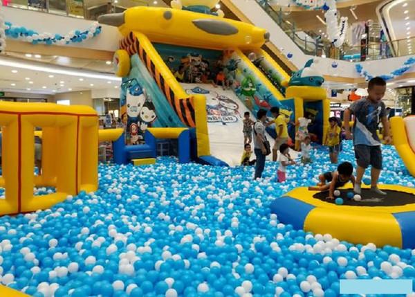 top popular 1000 pieces marine ball 7 cm diameter Ocean Balls ball pits baby toys Kid Swim Pool Pit Toy 2020