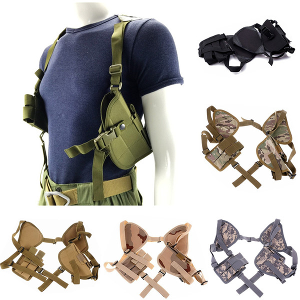 best selling FIRECULB Tactical Universal Left Right Hand Pistol Pouch Shoulder Holster