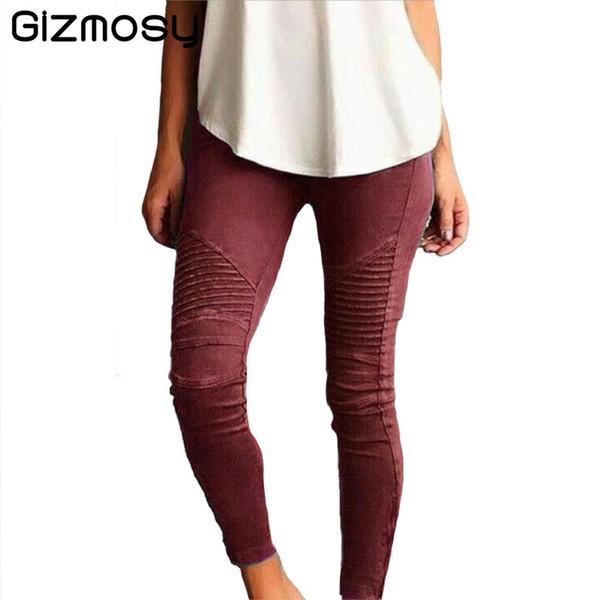New Stretch High Waist Skinny Jeans Female Slim Worn Feet Vintage Black Blue Pencil Pants Women Jeans Plus Size 5XL BN2034