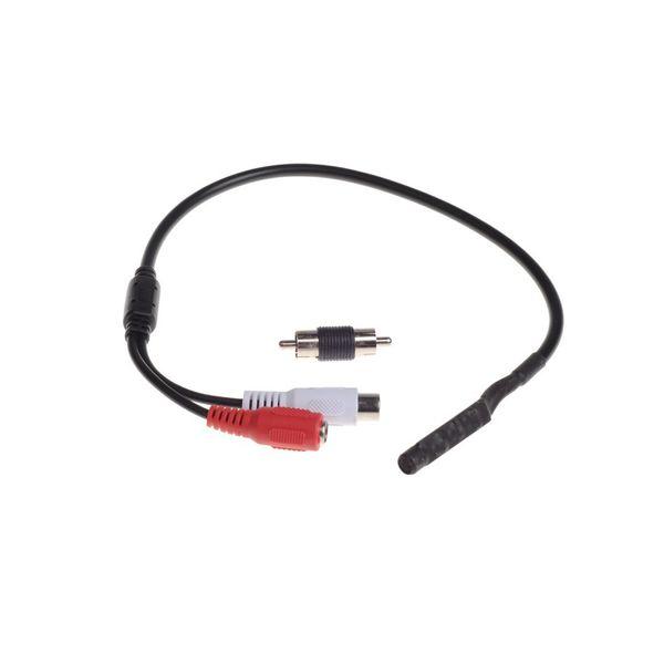 Überwachung RCA CCTV Mic Mikrofon Sound Monitor CCTV Sound Kamera Mini-Mikrofon, ein bis zwei Netzkabel frei