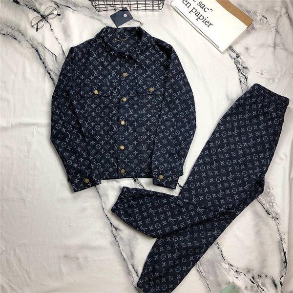 New Designer Denim Jackets Men and Women Brand Jackets Luxury High Quality Denim Suits Best Version Jacket + Pants Men's Jacket Sweatshirt