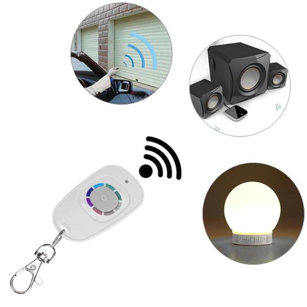 smart Waterproof 433MHz 1 Key Wireless Fixed Code Rolling Code Smart Remote Control for Garage Door Gate