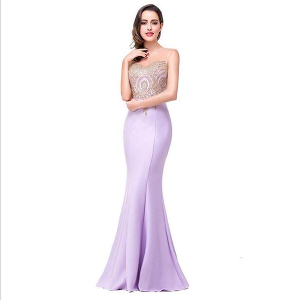 European and American evening dress applique, sexy, back, hollow, perspective, bag, buttocks, fishtail, skirt, dress, girl. 10pcs
