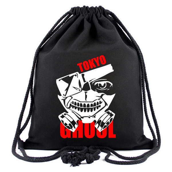 Tokyo Goul Cosplay Anime Backpack Cool Black Sport Outdoor Packs One Piece New Design Bag for Creative Gift