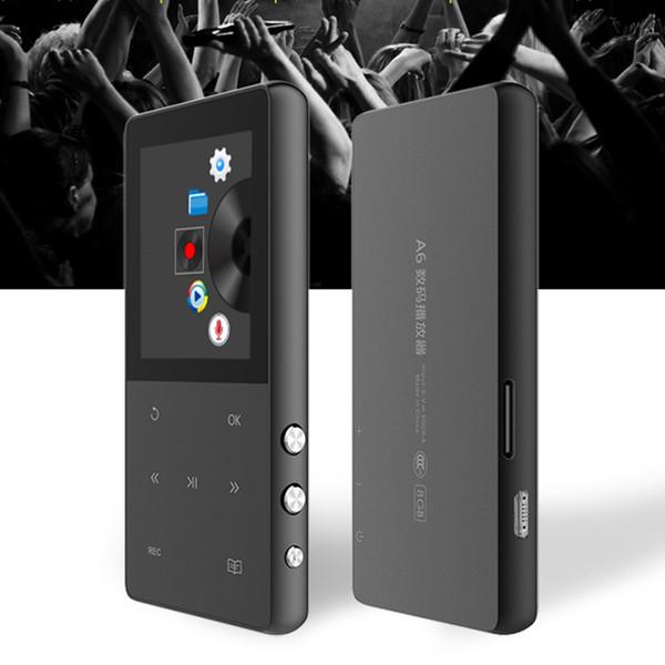 Nuovo aggiornamento mp4 player touch screen da 8 GB con registratore vocale FM radio pedometro radio lettore video supporto TF card fino a 64 GB