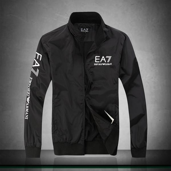 Cross-border supply 2018 new designer high-end jacket men's jacket fashion explosion models men's stand collar cotton jacket