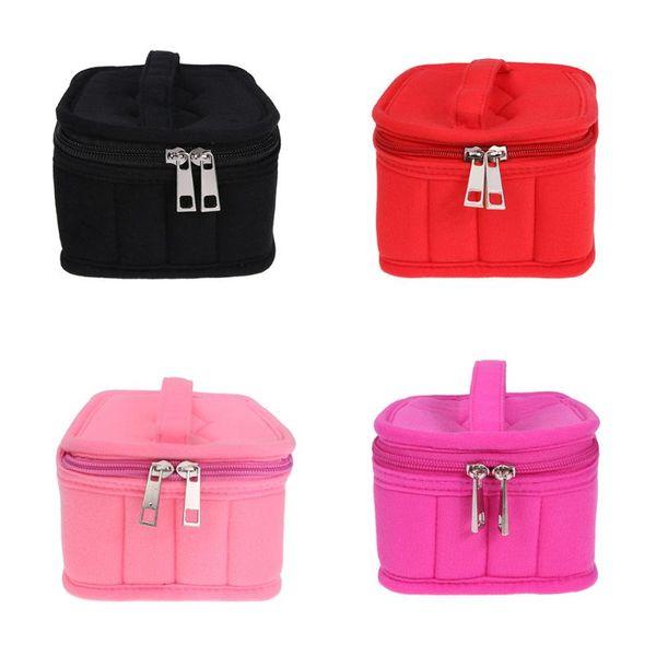 16 Bole 4 color Essential Oil Bag Carrying Holder Case Women Hands Cosmetic Makeup Bag Oil Bole Organizer Storage