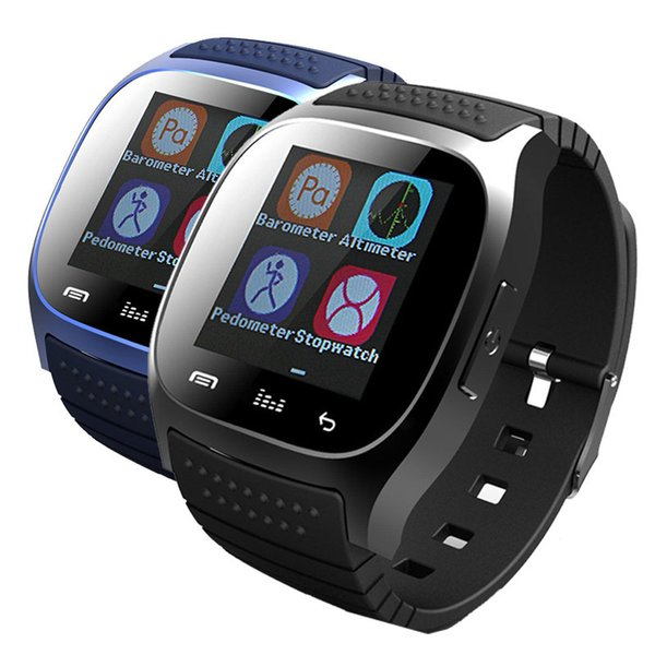 2018 Bluetooth Smart Watch M26 with LED Display / Dial / Alarm /Pedometer Music Pedometer Fitness for Android IOS HTC Mobile Phone