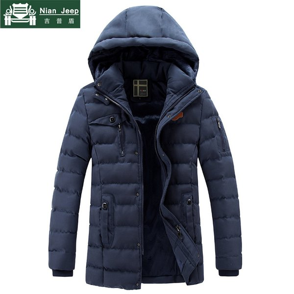 Thick Winter Parka Men Casual Wool Liner Warm Outwear Windproof Parkas hombre invierno Multi-pocket Jackets Male Size L-3XL