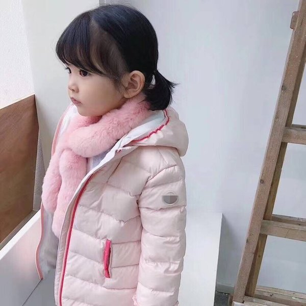 b6c9eb0c6023 kids Children Coat Baby Girls winter Coats long sleeve coat girl s warm  Baby jacket Winter Outerwear