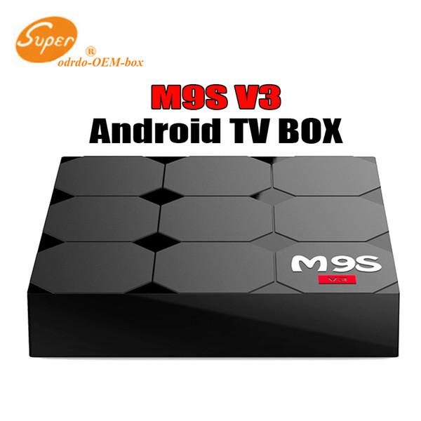 2018 M9S V3 V5 Android TV Boxes Rockchip RK3229 Quad Core 4K wireless WIFI HDMI media player TV OTT set top box Media player Better X92 X96
