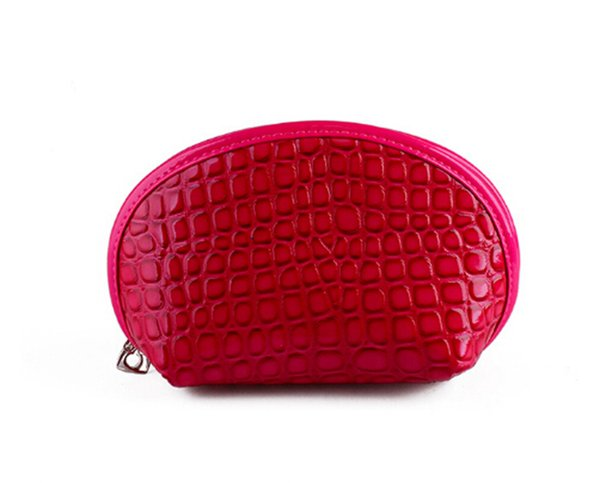 NEW trend shellfish crocodile paern  Bag Travel waterproof  purse mini cosmetic bag for women
