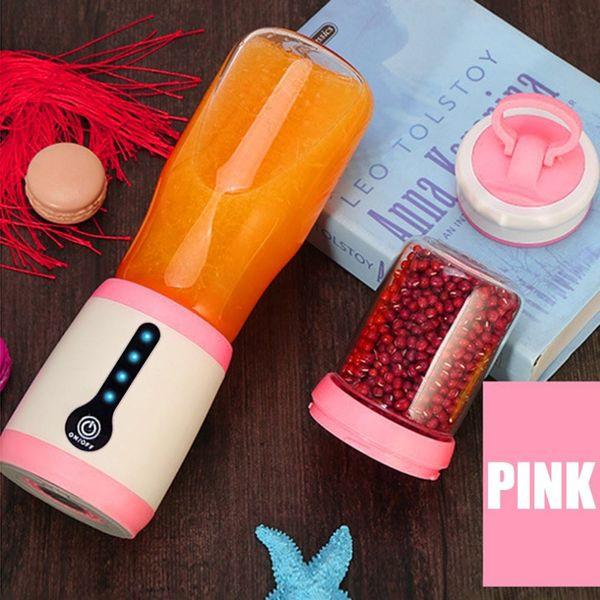 Chegada nova Multifuncional 2-em-1 Elétrica Juice Maker Mini Copo Portátil Juicer Blender Máquina De Moer Casa Ferramenta de Cozinha