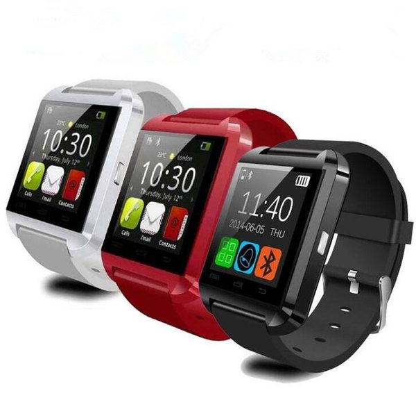 Bluetooth Smart Watch U8 Watch Wrist Smartwatch for iPhone Samsung S6 S7 Note 4 Note 5 HTC Android Phone Smartphones DHL Free Shipping